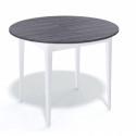 Стол обеденный Kenner Q1000, белый/ясень графит