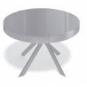 Стол Kenner VR1200 серый/стекло серое глянец