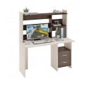 Компьютерный стол Домино Lite СКЛ-Прям130+НКЛ-130 (левый)