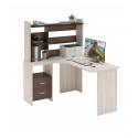 Компьютерный стол Домино Lite СКЛ-Угл130+НКЛ-120 (левый)