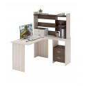 Компьютерный стол Домино Lite СКЛ-Угл130+НКЛ-120 (правый)