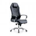 Кресло руководителя Бюрократ Aura/Black