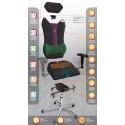 Кресло с подголовником Kulik-System Victory Duo Color