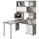 Угловой компьютерный стол СР-420-130 (правый)