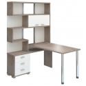 Угловой компьютерный стол СР-420-130 (левый)