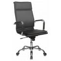 Кресло Бюрократ CH-993 black черный искусственная кожа высокая спинка