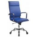 Кресло Бюрократ CH-993/blue синий искусственная кожа