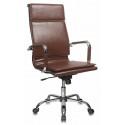 Кресло Бюрократ CH-993 brown коричневый искусственная кожа высокая спинка