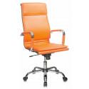 Кресло Бюрократ CH-993/orange оранжевый искусственная кожа