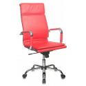 Кресло Бюрократ CH-993 red красный искусственная кожа высокая спинка