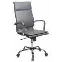 Кресло Бюрократ CH-993/grey серый искусственная кожа