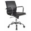 Кресло Бюрократ CH-993-Low/black низкая спинка черный искусственная кожа