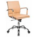 Кресло Бюрократ CH-993-Low/camel низкая спинка светло-коричневый искусственная кожа