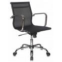 Кресло руководителя Бюрократ CH-993-Low/M01 низкая спинка черный сетка