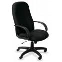 Кресло руководителя Бюрократ T-898AXSN Black черный 8011 ткань