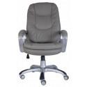 Кресло руководителя Бюрократ CH-868SAXSN/Grey серый искусственная кожа (пластик серебристый)