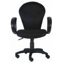 Кресло Бюрократ CH-687AXSN (пластик черный)
