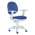 Кресло Бюрократ CH-W356AXSN (пластик белый)