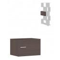 БД ящик с дверью для стеллажа
