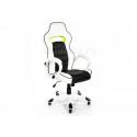Офисное кресло Lider черно-белое