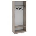 Шкаф для одежды с 1-ой глухой и 1-ой зеркальной дверями «Прованс» СМ-223.07.025L