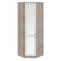 Шкаф угловой с 1-ой зеркальной дверью левый «Прованс» СМ-223.07.027L
