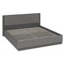 Кровать с подъемным механизмом «Наоми» СМ-208.01.02 (Фон серый, Джут)