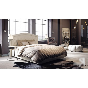 Кровать с мягким изголовьем «Адель» (Крем)