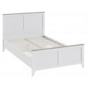 Кровать «Ривьера» СМ 241.13.21 (Дуб Бонифацио/Белый )