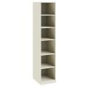 Шкаф для белья с 1-ой зеркальной дверью «Лючия» (Штрихлак)