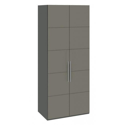 Шкаф с 2-мя дверями «Наоми» (Фон серый, Джут)