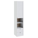 Шкаф комбинированный «Ривьера» (Белый)