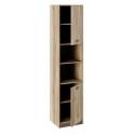 Шкаф «Пилигрим» ТД-276.07.20 (Дуб Каньон светлый, Фон серый)