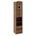 Шкаф комбинированный с иллюминатором «Навигатор» (Дуб Каньон)
