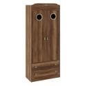 Шкаф комбинированный для одежды с иллюминатором «Навигатор» (Дуб Каньон)