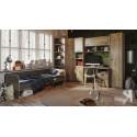 Набор детской мебели «Пилигрим» №1 (Дуб Каньон светлый, Фон серый)