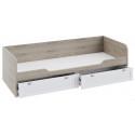 Набор детской мебели «Ривьера» стандартный (Дуб Бонифацио/Белый)