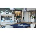 Набор детской мебели «Ривьера» №2 (Дуб Бонифацио/Белый)