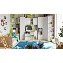Набор детской мебели «Ривьера» №3 (Дуб Бонифацио/Белый)
