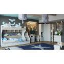 Набор детской мебели «Ривьера» №4 (Дуб Бонифацио/Белый)