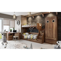 Набор детской мебели «Навигатор» №2 (Дуб Каньон)