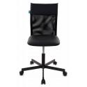 Кресло Бюрократ CH-1399/BLACK спинка сетка черный искусственная кожа крестовина металл