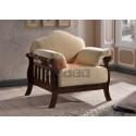 Кресло 1062LC (Br.Oak/Veloci B Beige)