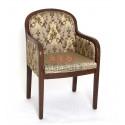 Кресло Миледи-2 (Т-3247, матовый, тк. Brown 206+208)