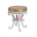 Банкетка Глория (молочный дуб/ткань Крем)