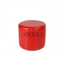 Пуф круглый ПФ-5 (Красный)