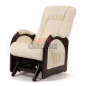 Кресло гляйдер Мод.48 (Or.perlam-106/Венге) Жемчужный