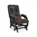 Кресло- гляйдер Модель 68 (венге/ Vegas lite amber) коричневый
