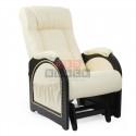 Кресло гляйдер Мод.48 (Дунди-112/Венге) Бежевый