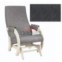 Кресло- гляйдер Модель 68-М (Antazite Grey /Дуб шампань(сливочный))